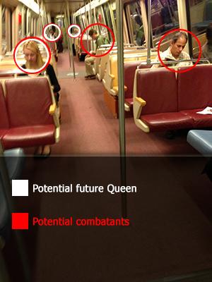nearly-empty-metrocar-targets